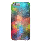 Abstract Painting | Dynamic Colours Barely There iPhone 6 Case