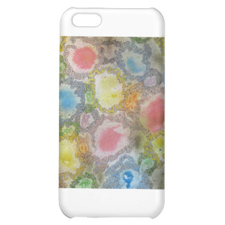 Abstract Painting iPhone 5C Covers
