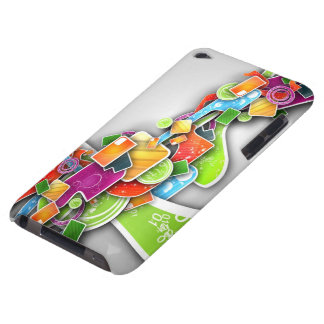 abstract painting iPod touch cases