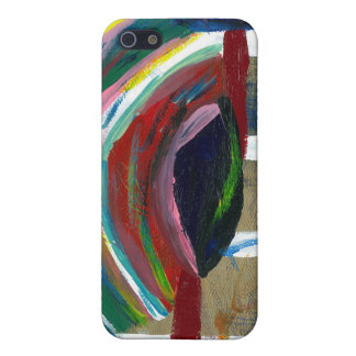 Abstract painting on  iPhone 5 cases