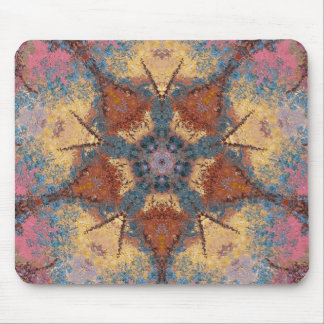 Abstract Painting Pattern 14 - Add your own text Mouse Pad