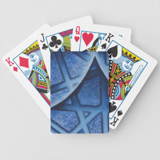 Abstract painting playing cards