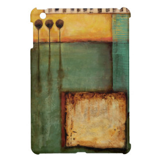Abstract Painting with Piano Keys Case For The iPad Mini