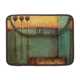 Abstract Painting with Piano Keys Sleeve For MacBooks