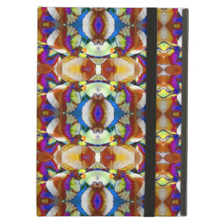 Abstract Pansy Flower Fractal iPad Air Case