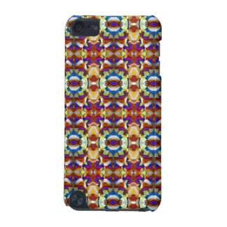 Abstract Pansy Flower Fractal iPod Touch 5G Cover