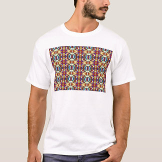Abstract Pansy Flower Fractal T-Shirt