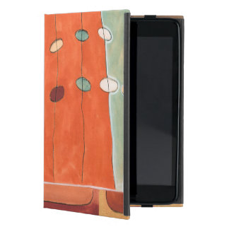 Abstract Parade of Eggs by Erica J Vess iPad Mini Cover