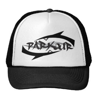 Abstract Parkour Cap