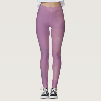 Abstract pastel colors leggings