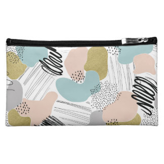 Abstract Pastel Cosmetics Case