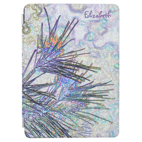 Abstract Pastel Flowers Drawing iPad Air 2 Cover