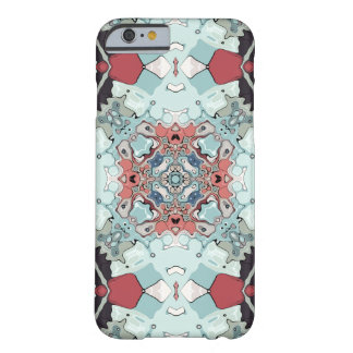 Abstract Pastel Mandala Barely There iPhone 6 Case