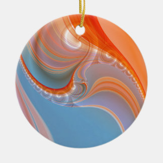 abstract pastell created by Tutti Christmas Tree Ornaments