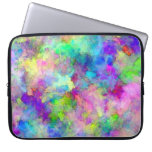 Abstract Patches of Colour Laptop Computer Sleeve