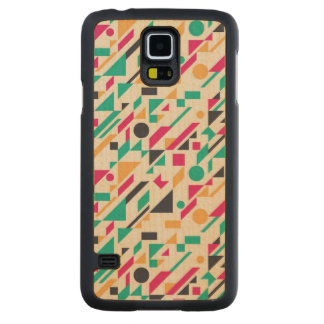 Abstract pattern 3 maple galaxy s5 slim case