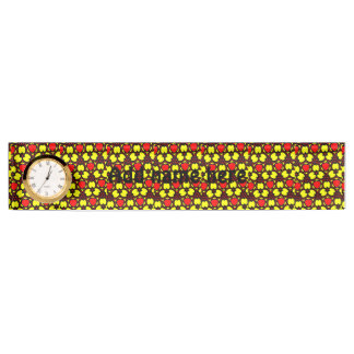 Abstract pattern art nameplate