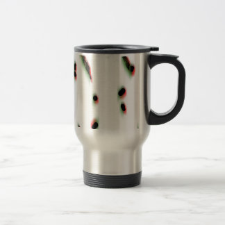 Abstract Pattern, Blobs, Texture Coffee Mugs
