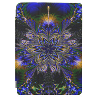 Abstract Pattern Blue Background iPad Air Cover