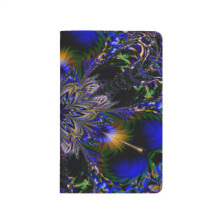 Abstract Pattern Blue Background Journal