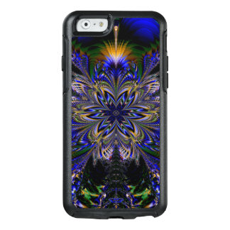 Abstract Pattern Blue Background OtterBox iPhone 6/6s Case