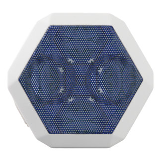 Abstract Pattern Blue White Boombot Rex Bluetooth Speaker