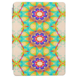 Abstract Pattern Blue Circles iPad Air Cover