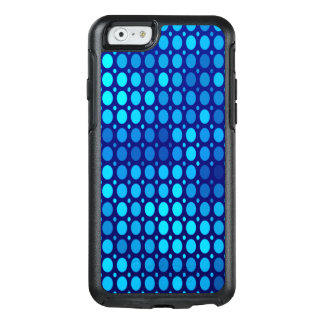 Abstract Pattern Blue Circles OtterBox iPhone 6/6s Case