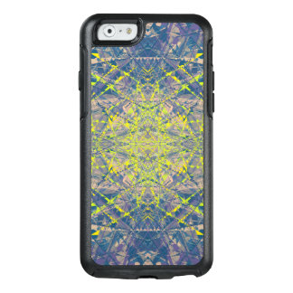 Abstract Pattern Blue Crystal Look Background OtterBox iPhone 6/6s Case