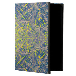 Abstract Pattern Blue Crystal Look Background Powis iPad Air 2 Case