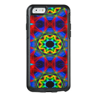 Abstract Pattern Blue Green And Red Background OtterBox iPhone 6/6s Case