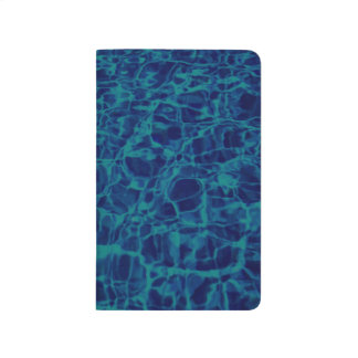 Abstract Pattern Blue Water Background Journal