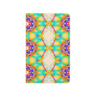 Abstract Pattern Blue White And Red Background Journal