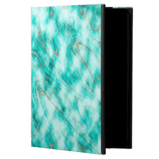 Abstract Pattern Blue & White Whirls Powis iPad Air 2 Case