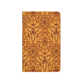 Abstract Pattern Brown Background Journal