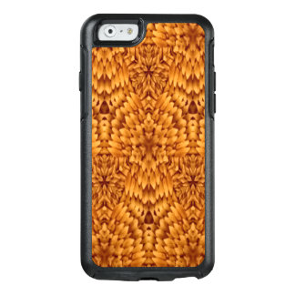 Abstract Pattern Brown Background OtterBox iPhone 6/6s Case
