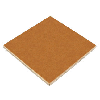 Abstract Pattern brown Maple Wood Coaster