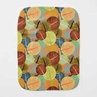 Abstract pattern burp cloth