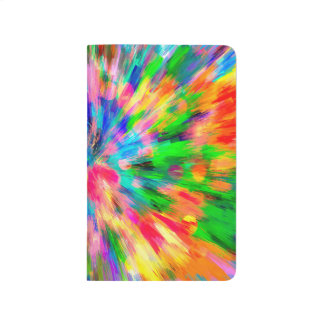 Abstract Pattern Color Explosion Journal