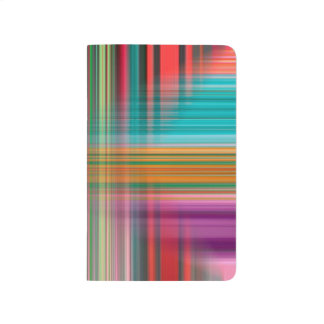 Abstract Pattern Colorful Background Journal