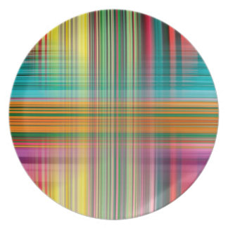 Abstract Pattern Colorful Background Plate