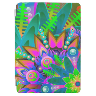 Abstract Pattern Colorful Floral iPad Air Cover