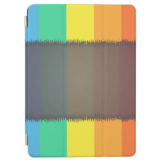 Abstract Pattern Colorful Rainbow Background iPad Air Cover