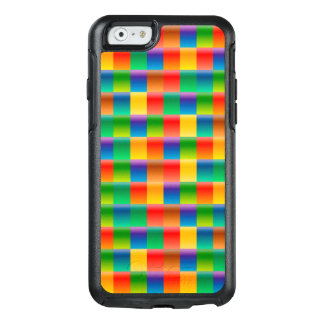 Abstract Pattern Colorful Square Background OtterBox iPhone 6/6s Case