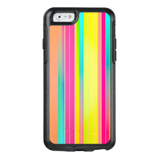 Abstract Pattern Colorful Stripes Background OtterBox iPhone 6/6s Case