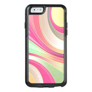 Abstract Pattern Colorful Waves Background OtterBox iPhone 6/6s Case
