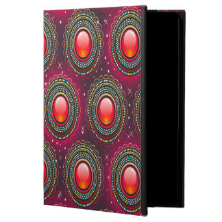 Abstract Pattern Concentric Circles Purple And Pin Powis iPad Air 2 Case