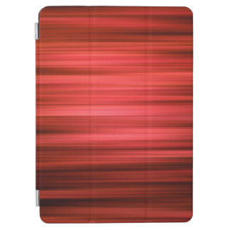 Abstract Pattern Dark Red Lines iPad Air Cover