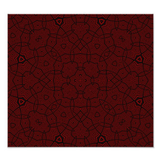 Abstract Pattern Dark Red Photo