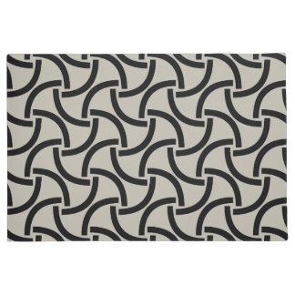 Abstract pattern design doormat